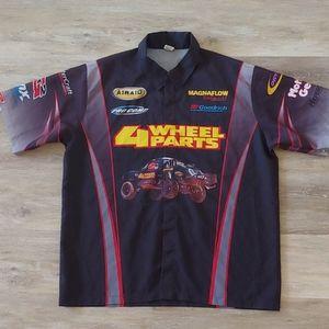 Simpson Greg Adler Truck Racing Pit Crew Shirt